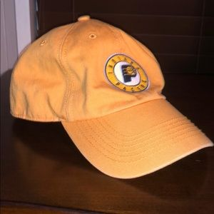 Indiana Pacers yellow large 47 brand hat